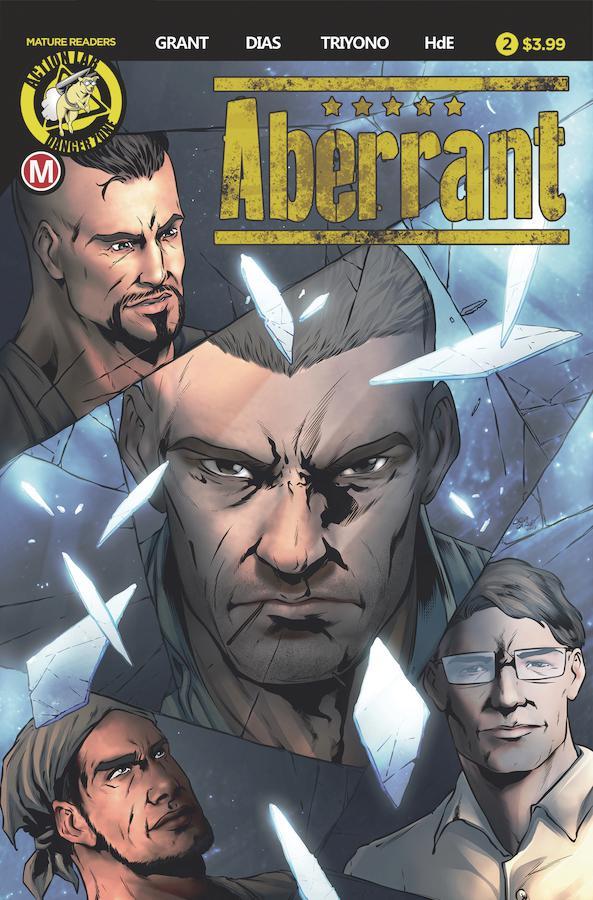 Aberrant #2 Cover A Regular Davi Leon Dias Cover