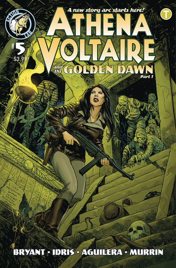 Athena Voltaire #5 Cover B Variant Staz Johnson Cover
