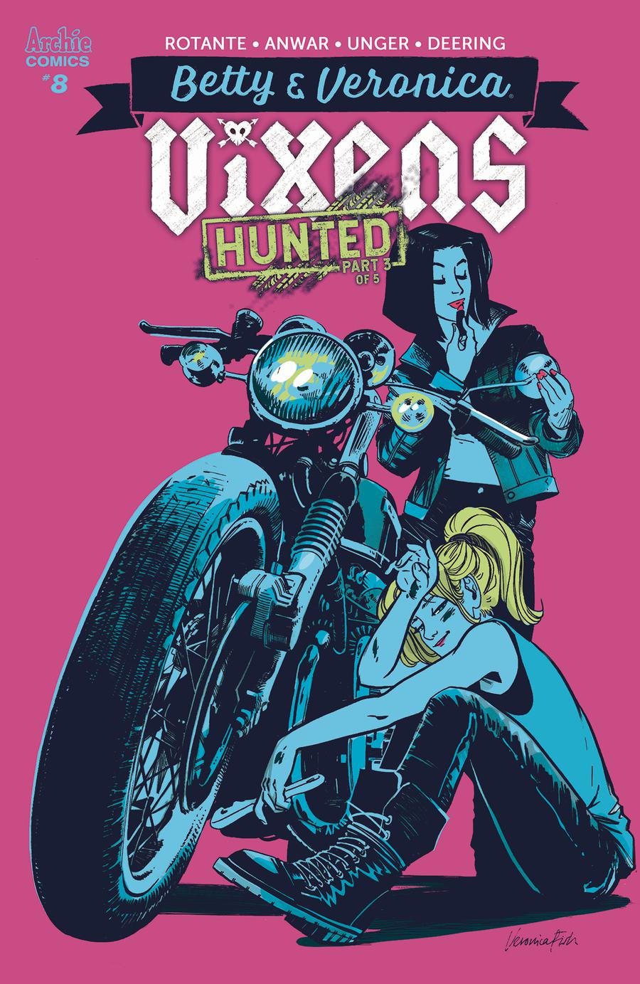 Betty & Veronica Vixens #8 Cover B Variant Veronica Fish Cover