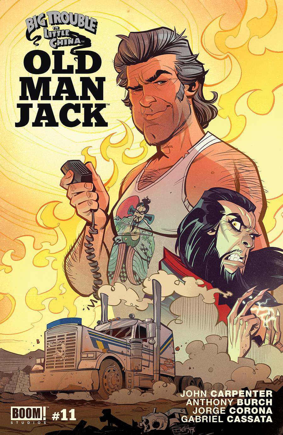 Big Trouble In Little China Old Man Jack #11 Cover A Regular Brett Parson Cover