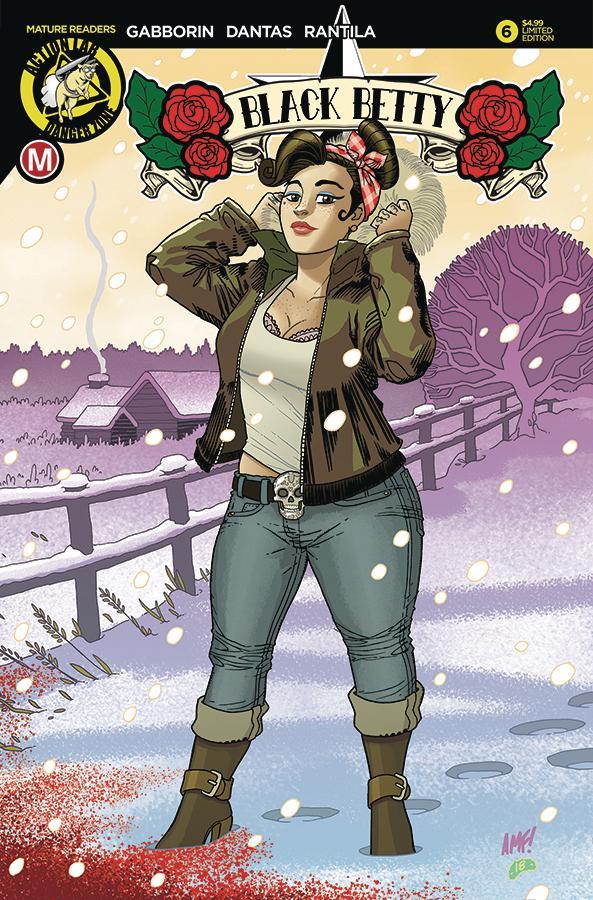 Black Betty #6 Cover E Variant Tony Fleecs Cover
