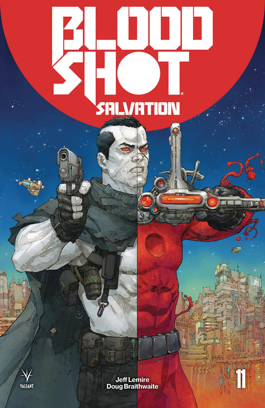 Bloodshot Salvation #11 Cover A Regular Kenneth Rocafort Cover