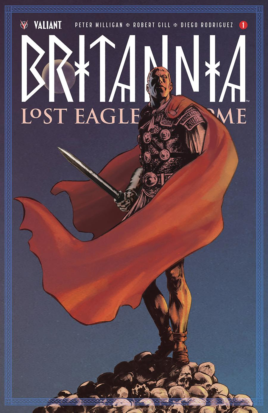 Britannia Lost Eagles Of Rome #1 Cover B Variant Brian Thies Cover