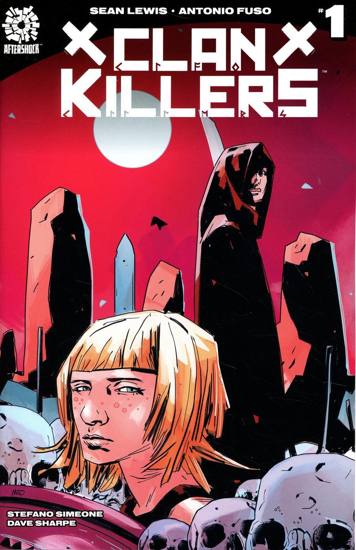 Clankillers #1 Cover A Regular Antonio Fuso Cover