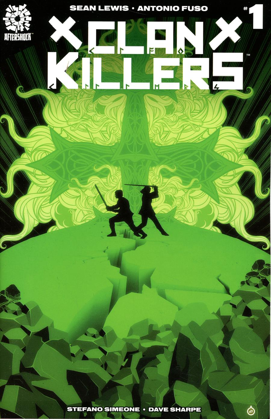 Clankillers #1 Cover B Variant Juan Doe Cover