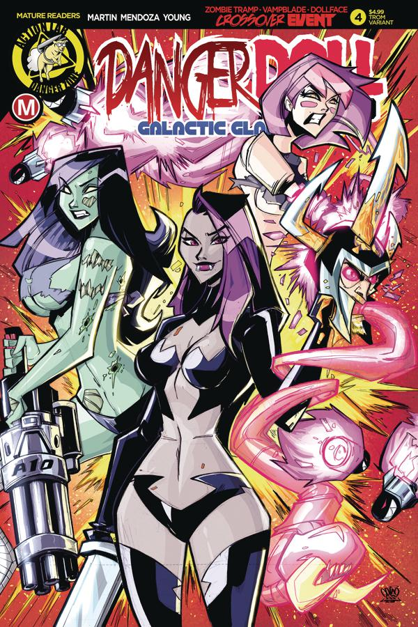 Danger Doll Squad Galactic Gladiators #4 Cover C Variant Marcelo Trom Cover