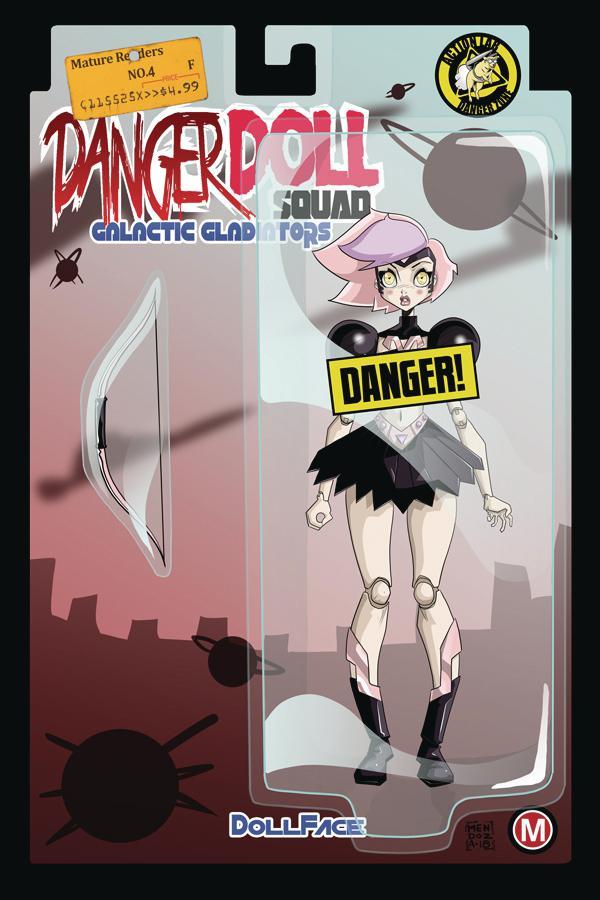 Danger Doll Squad Galactic Gladiators #4 Cover F Variant Dan Mendoza Risque Cover