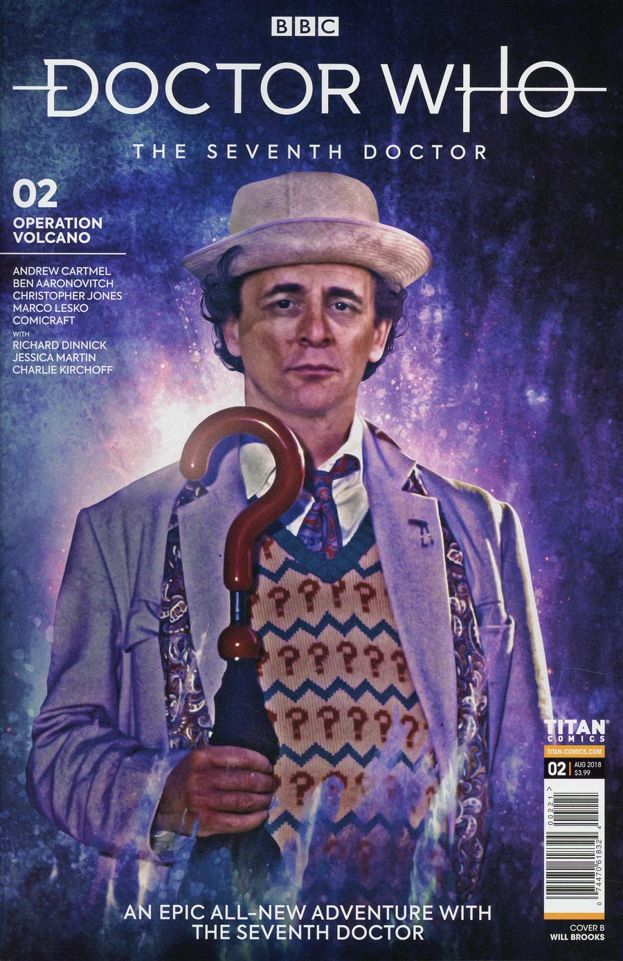 Doctor Who 7th Doctor #2 Cover B Variant Photo Cover
