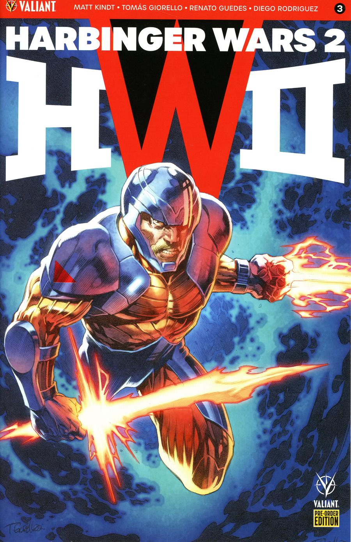 Harbinger Wars 2 #3 Cover C Variant Tomas Giorello & Khari Evans Cover