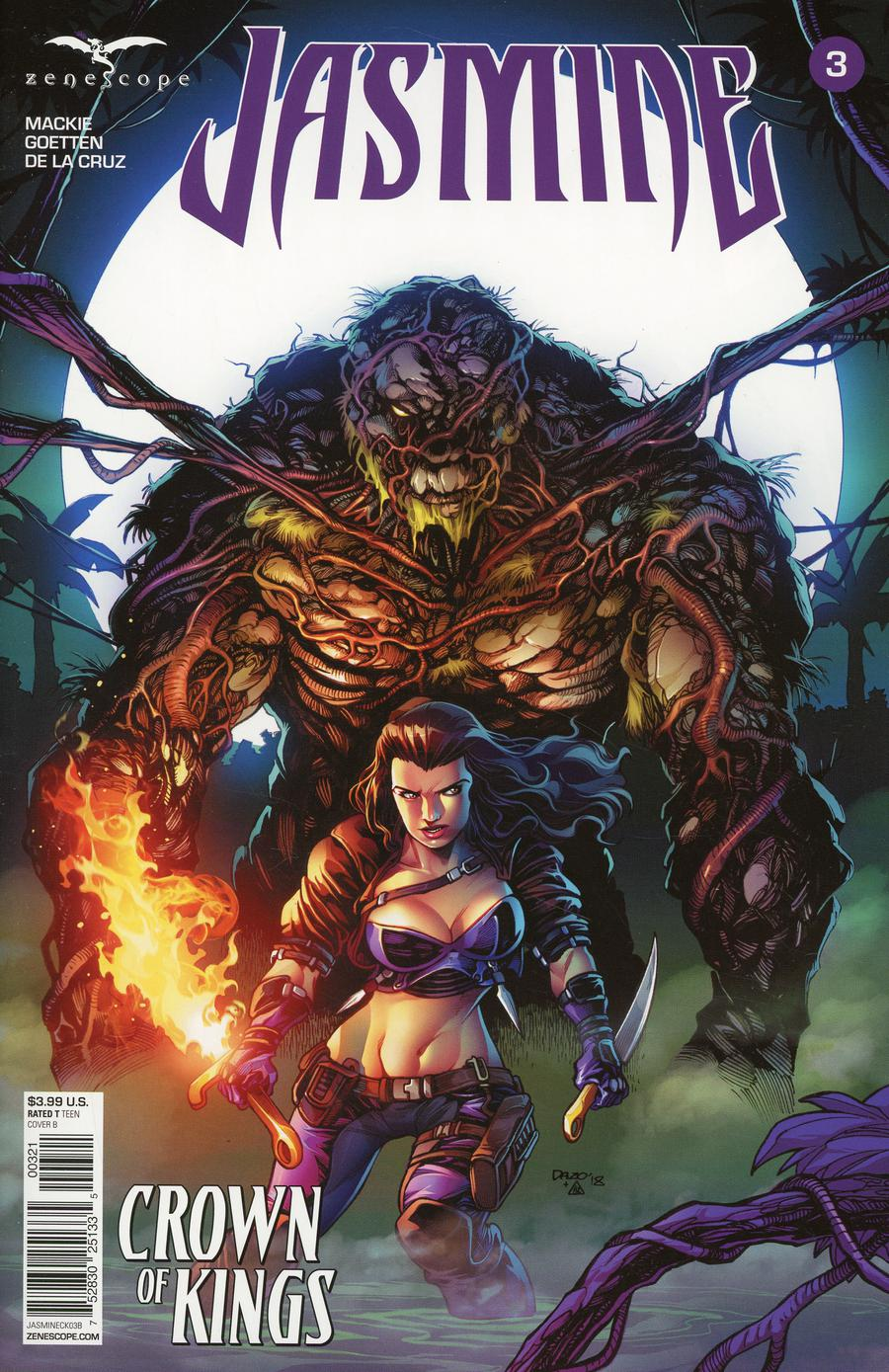 Grimm Fairy Tales Presents Jasmine Crown Of Kings #3 Cover B Bong Dazo