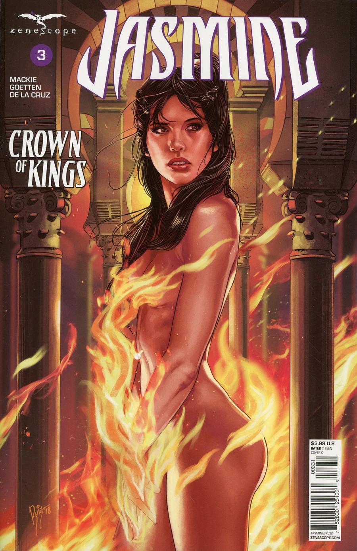 Grimm Fairy Tales Presents Jasmine Crown Of Kings #3 Cover C Ruiz Burgos