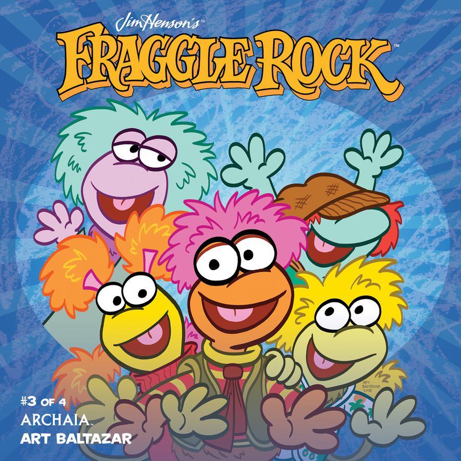 Jim Hensons Fraggle Rock #3 Cover A Regular Art Baltazar Cover