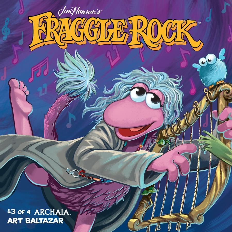 Jim Hensons Fraggle Rock #3 Cover B Variant Jake Myler Connecting Subscription Cover