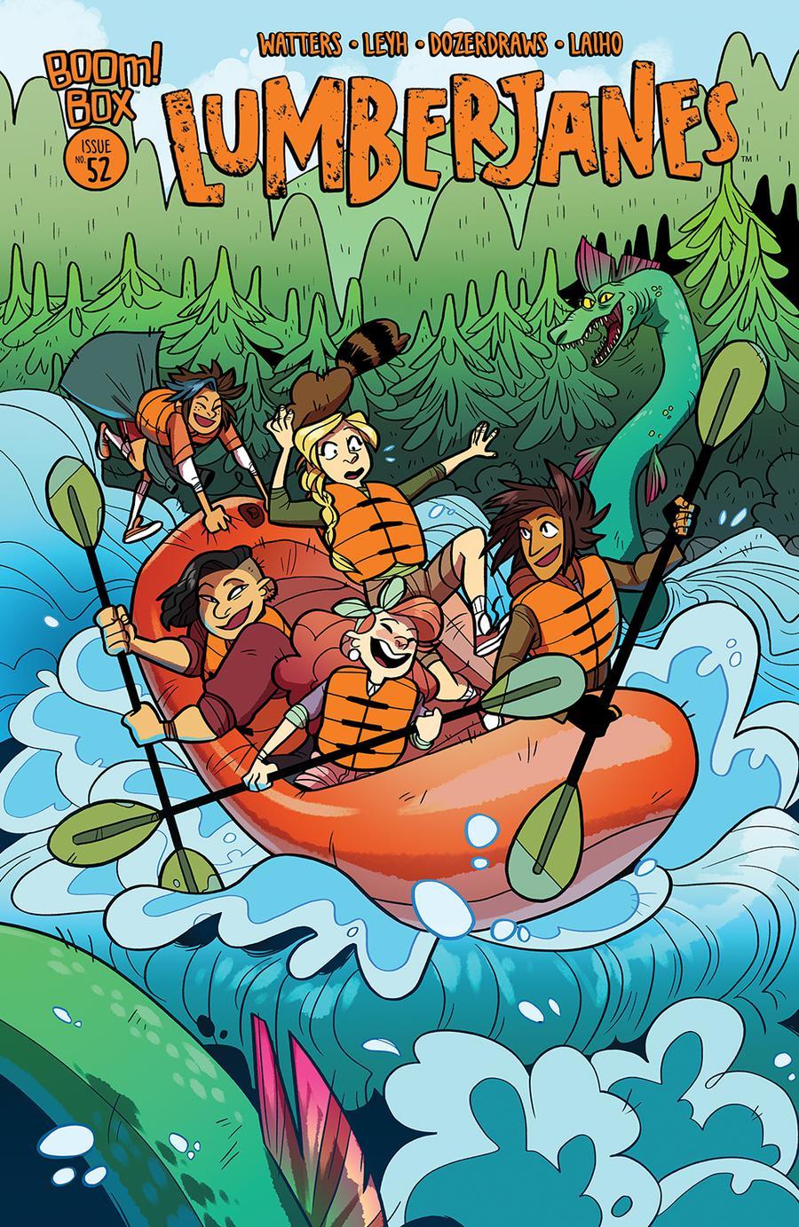 Lumberjanes #52 Cover B Variant Dozerdraws Subscription Cover
