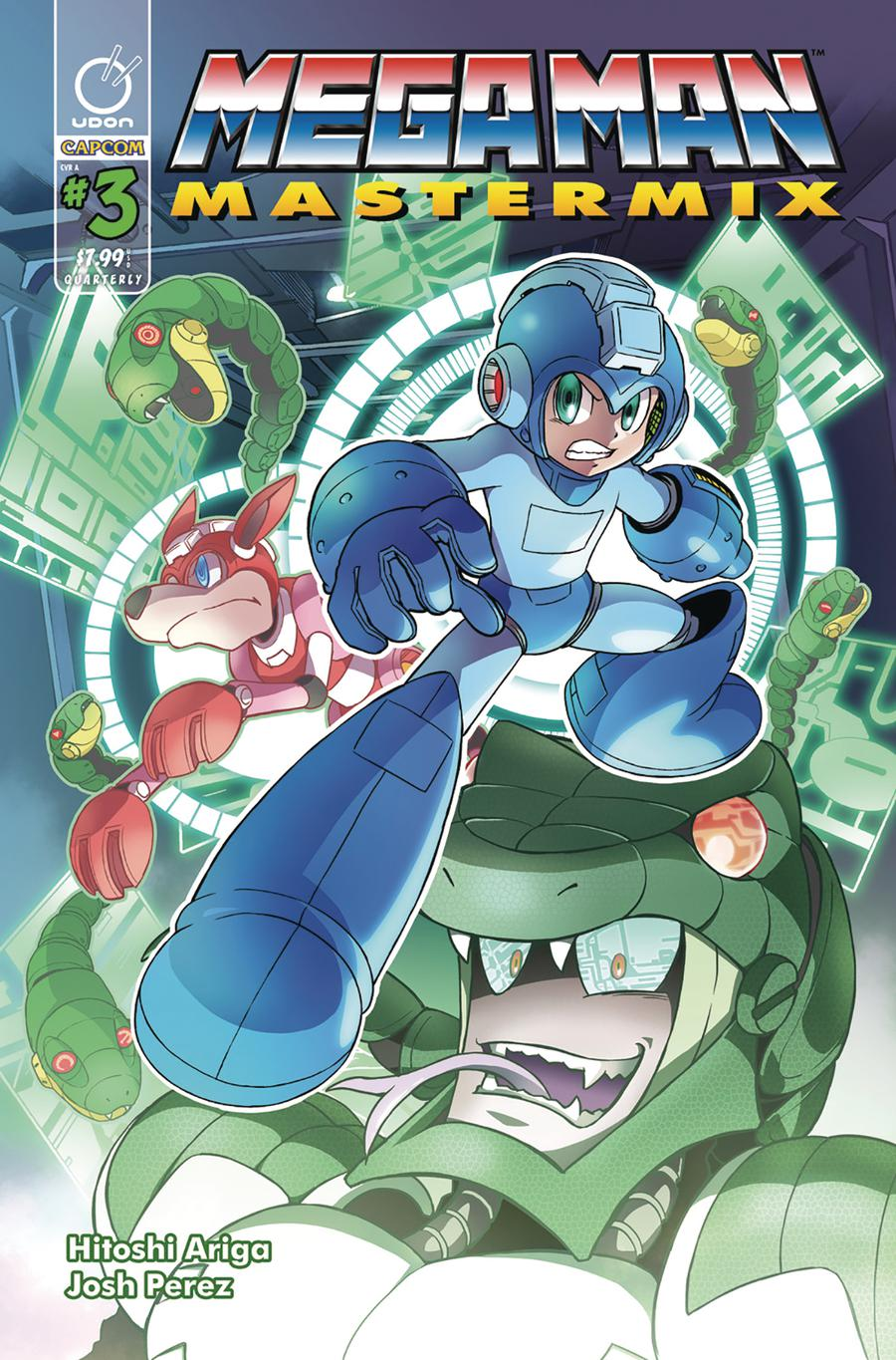 Mega Man Mastermix #3 Cover A Regular Hitoshi Ariga Cover