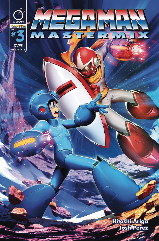 Mega Man Mastermix #3 Cover B Variant Genzoman Cover