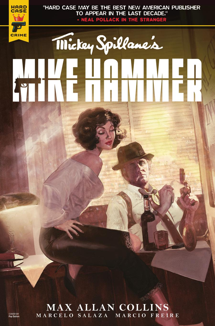 Hard Case Crime Mickey Spillanes Mike Hammer #2 Cover A Regular Fay Dalton Cover