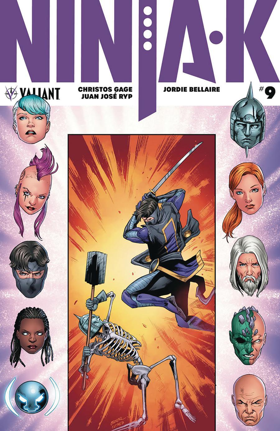 Ninja-K #9 Cover A Regular Carmen Carnero Cover