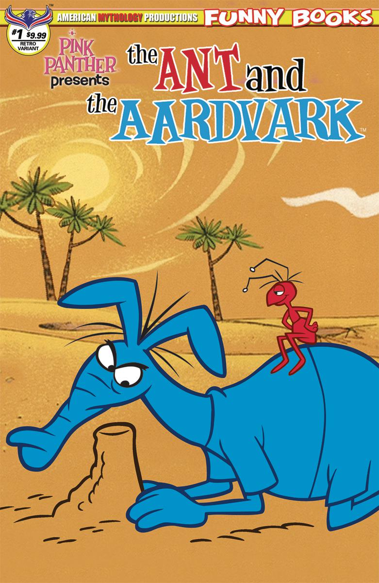 Pink Panther Presents The Ant And The Aardvark #1 Cover C Variant Flashback Limited Cover
