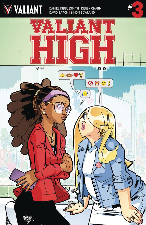 Valiant High #3 Cover A Regular David Lafuente Cover