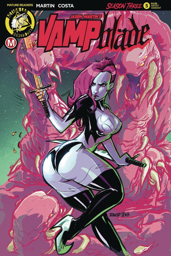 Vampblade Season 3 #5 Cover C Variant Randy Kintz Cover