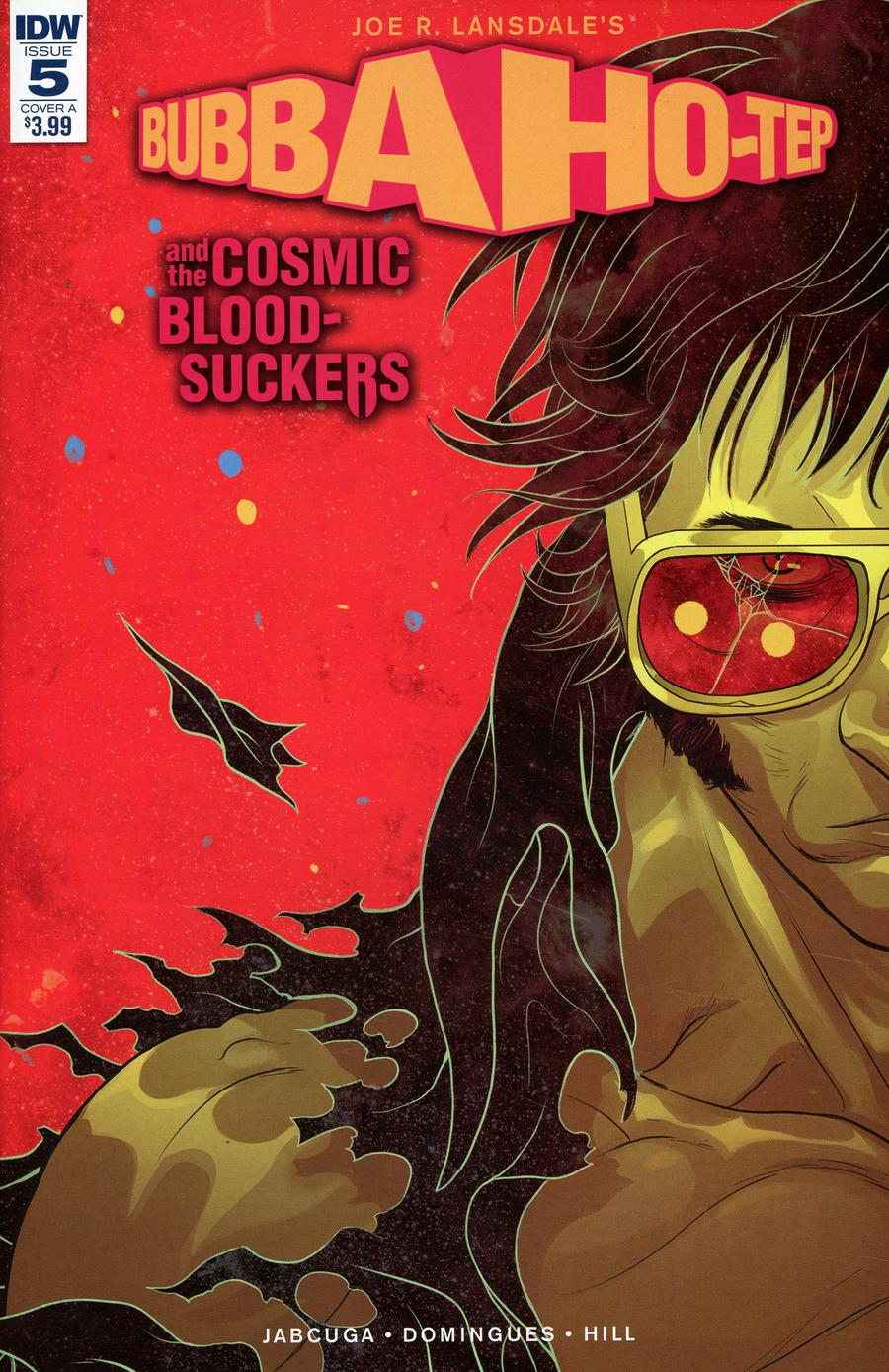 Bubba Ho-Tep And The Cosmic Blood-Suckers #5 Cover A Regular Baldemar Rivas Cover
