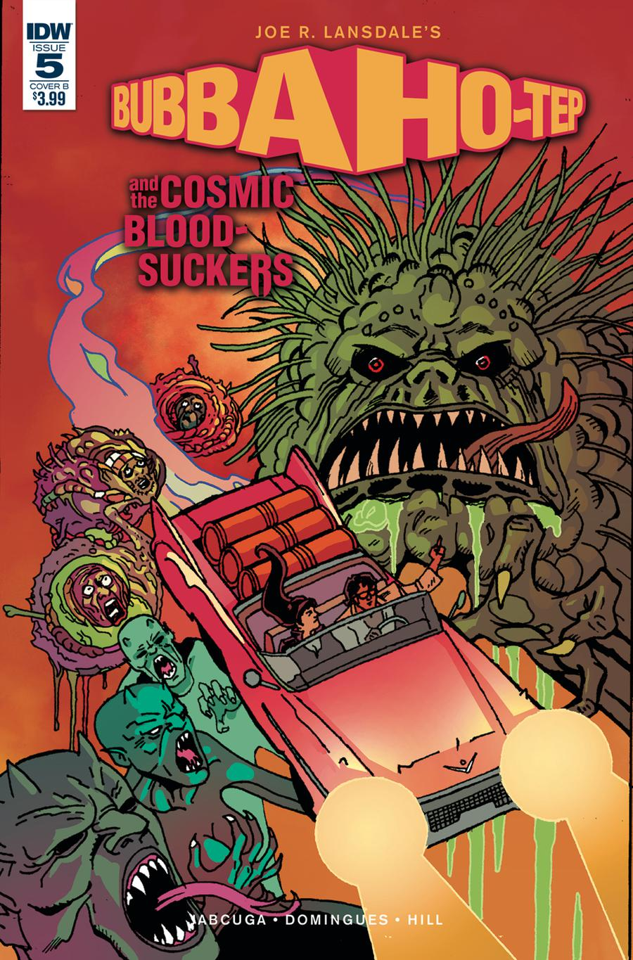 Bubba Ho-Tep And The Cosmic Blood-Suckers #5 Cover B Variant Tadd Galusha Cover