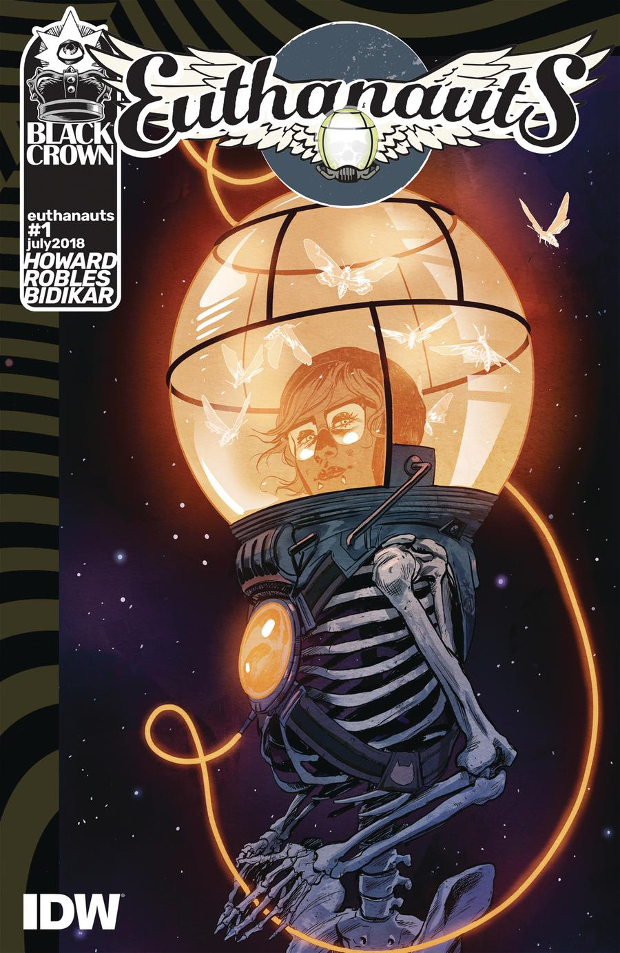 Euthanauts #1 Cover A Regular Nick Robles Cover