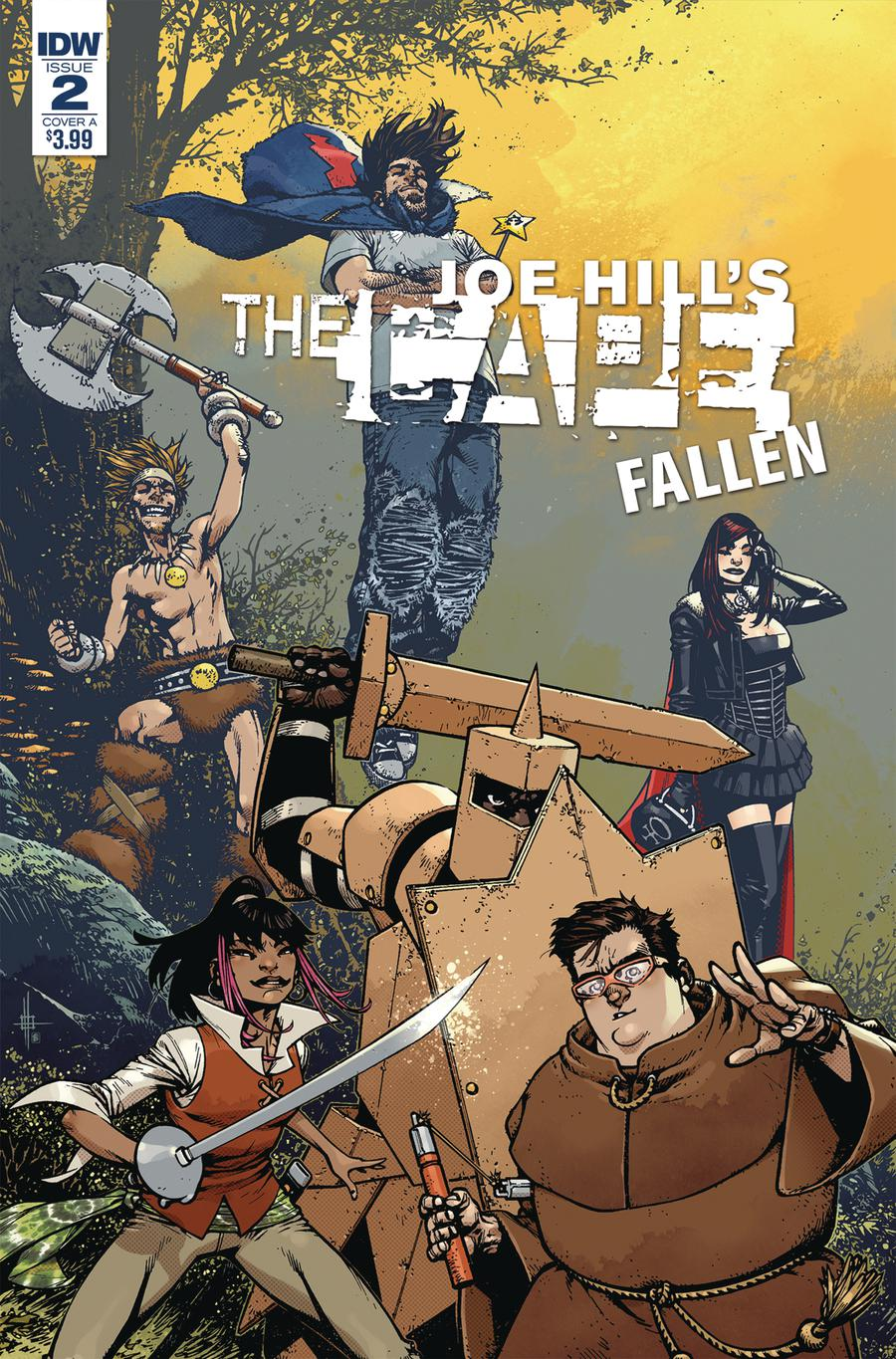 Joe Hills The Cape Fallen #2 Cover A Regular Zach Howard & Nelson Daniel Cover