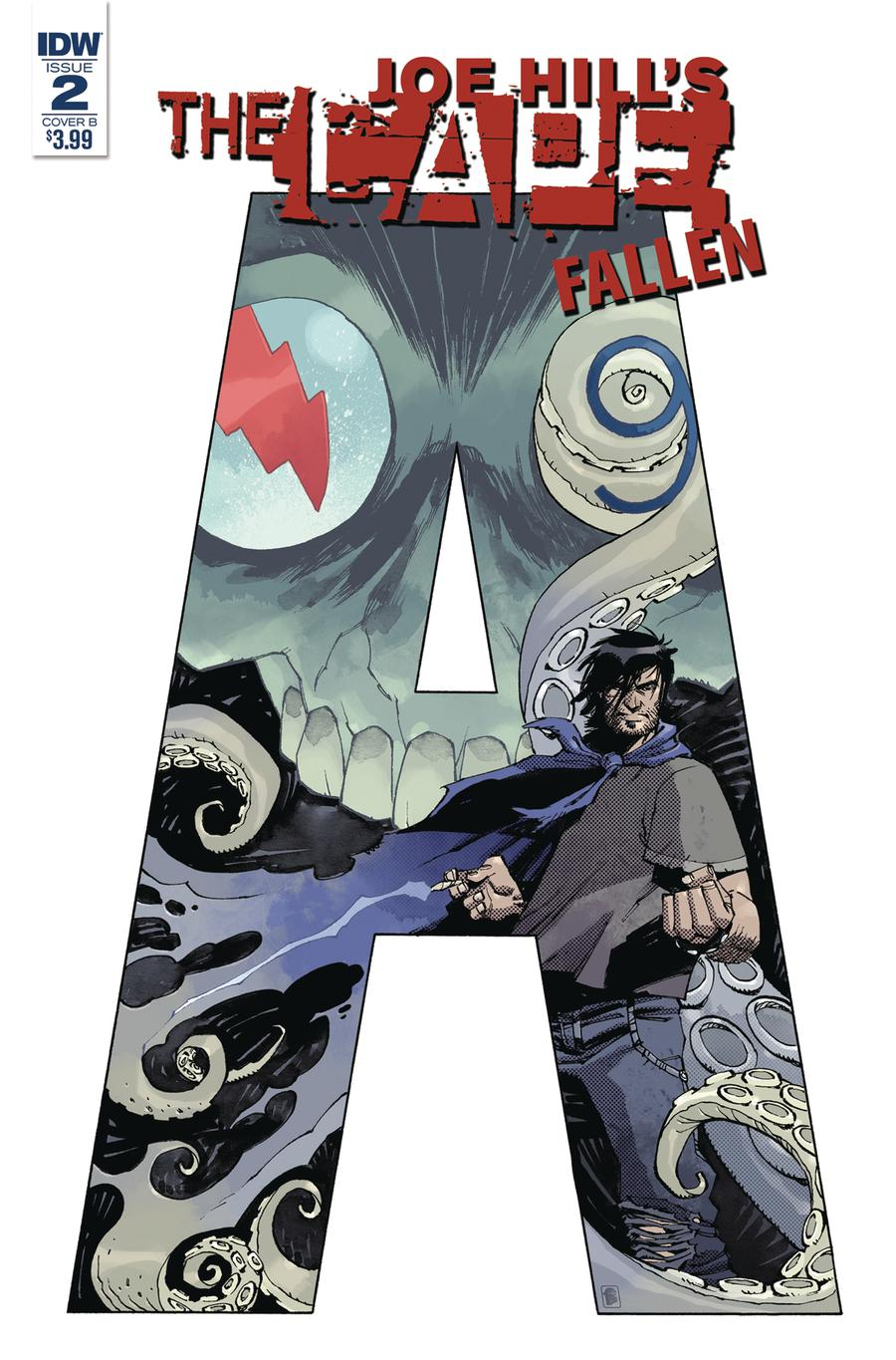 Joe Hills The Cape Fallen #2 Cover B Variant Nelson Daniel Cover