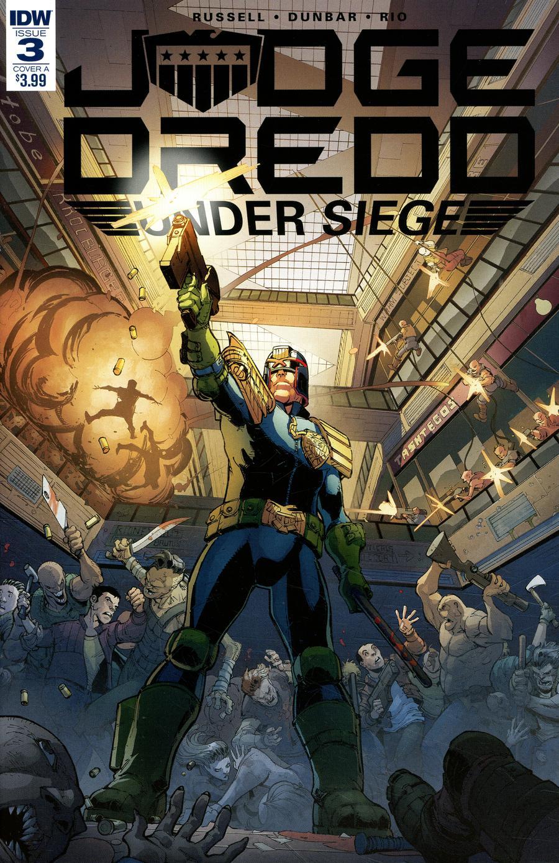 Judge Dredd Under Siege #3 Cover A Regular Max Dunbar Cover