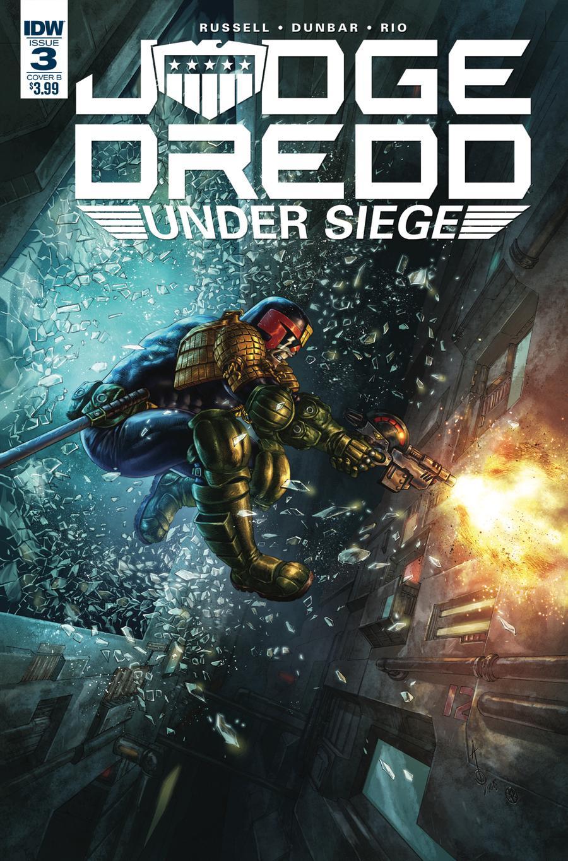 Judge Dredd Under Siege #3 Cover B Variant Alan Quah Cover