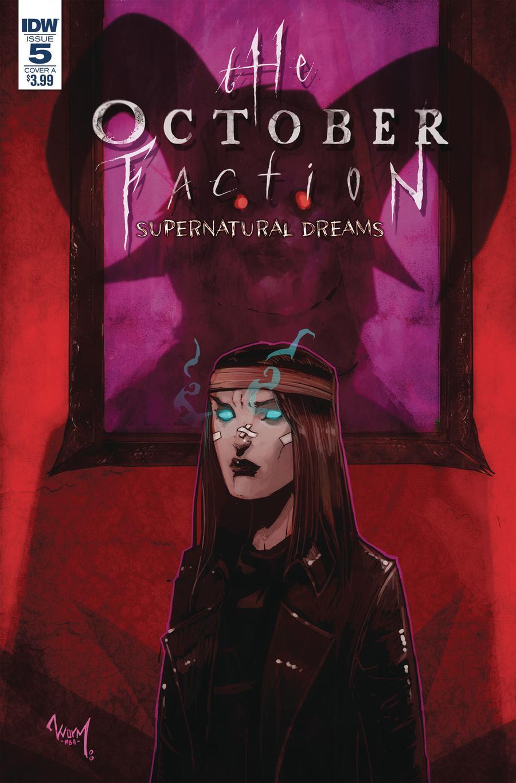October Faction Supernatural Dreams #5 Cover A Regular Damien Worm Cover