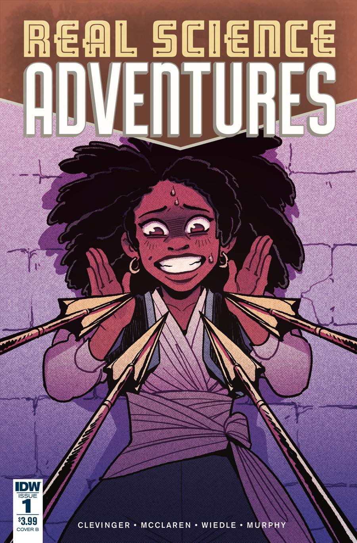 Real Science Adventures Nicodemus Job #1 Cover B Variant JN Wiedle Cover