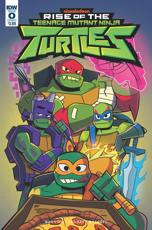Rise Of The Teenage Mutant Ninja Turtles #0 Cover A Regular Chad Thomas Cover