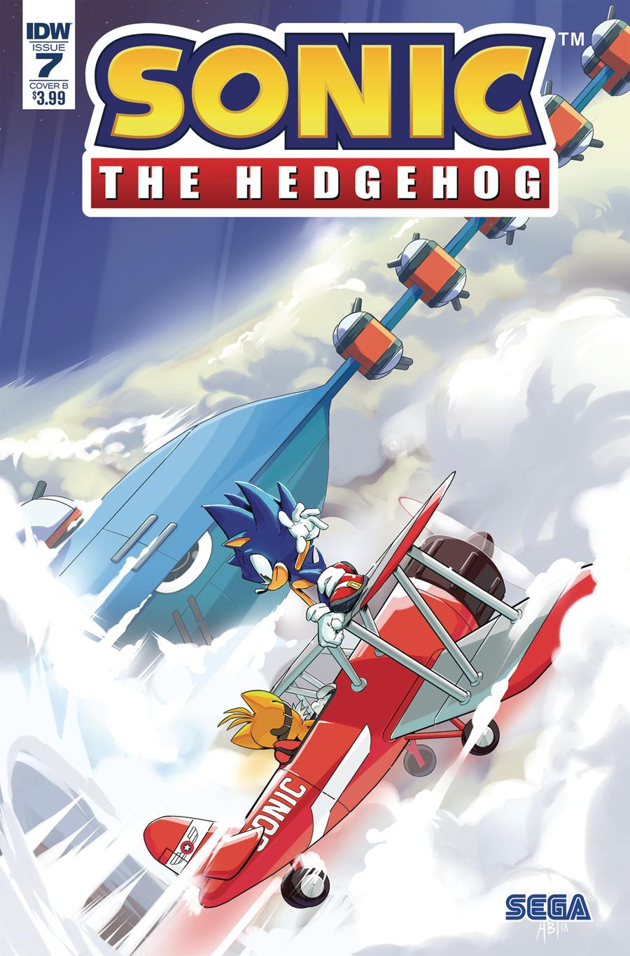 Sonic The Hedgehog Vol 3 #7 Cover B Variant Adam Bryce Thomas Cover