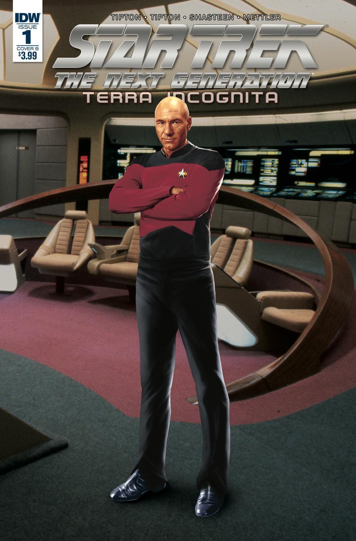 Star Trek The Next Generation Terra Incognita #1 Cover B Variant Photo Cover