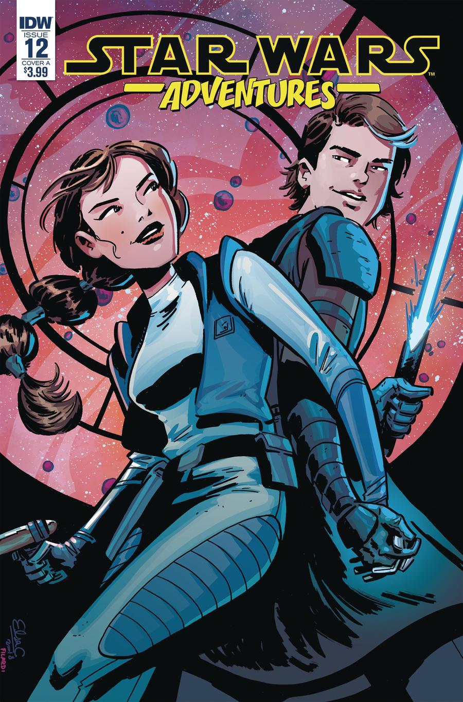 Star Wars Adventures #12 Cover A Regular Elsa Charretier Cover