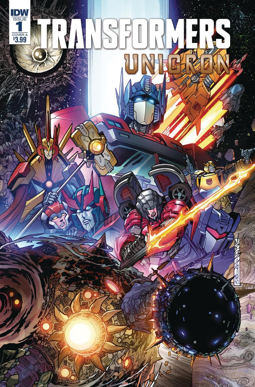 Transformers Unicron #1 Cover A 1st Ptg Regular Alex Milne Cover