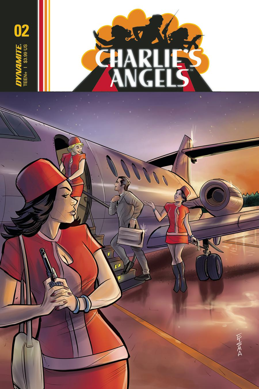 Charlies Angels #2 Cover B Variant Joe Eisma Cover