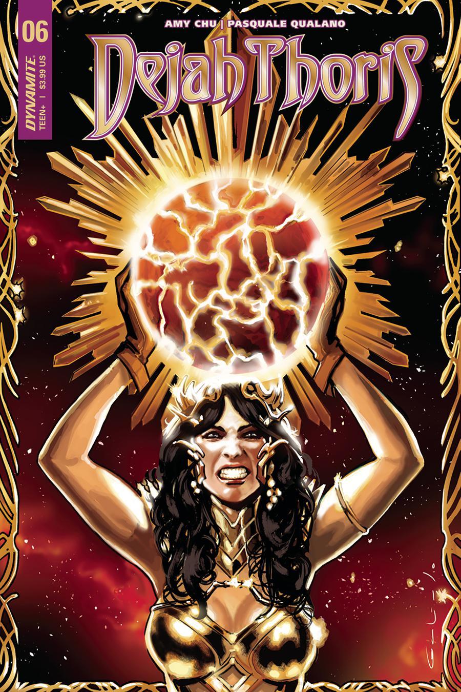 Dejah Thoris Vol 2 #6 Cover B Variant Diego Galindo Cover