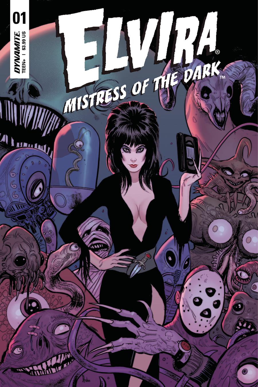 Elvira Mistress Of The Dark Vol 2 #1 Cover C Variant Kyle Strahm Cover