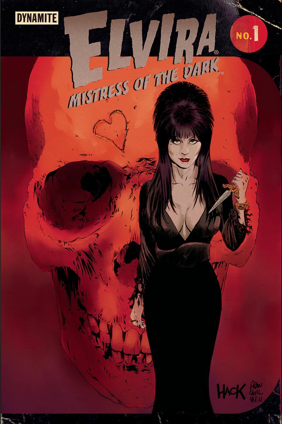 Elvira Mistress Of The Dark Vol 2 #1 Cover E Variant Robert Hack & Francesco Francavilla Cover