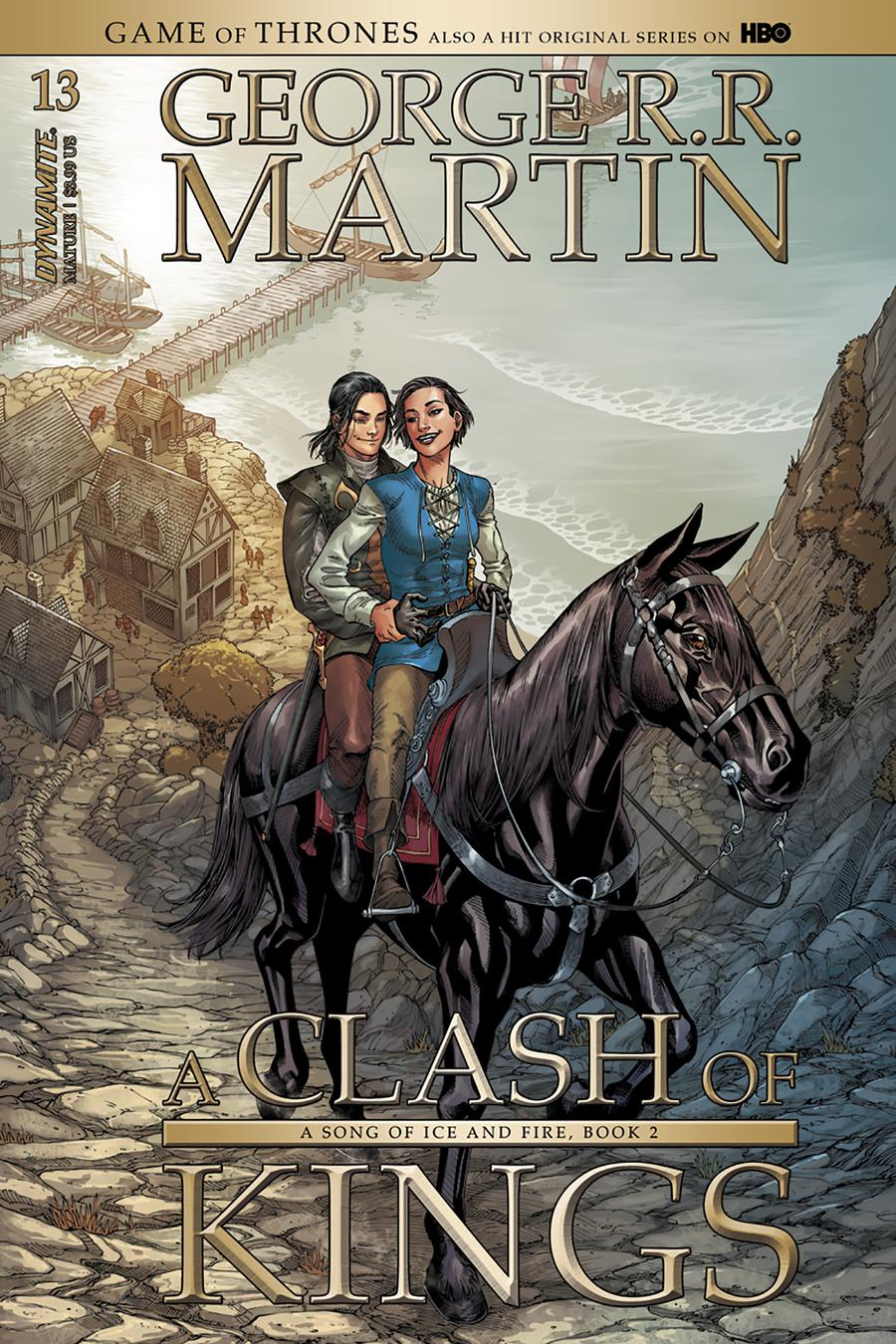 Game Of Thrones Clash Of Kings #13 Cover A Regular Mike S Miller Cover