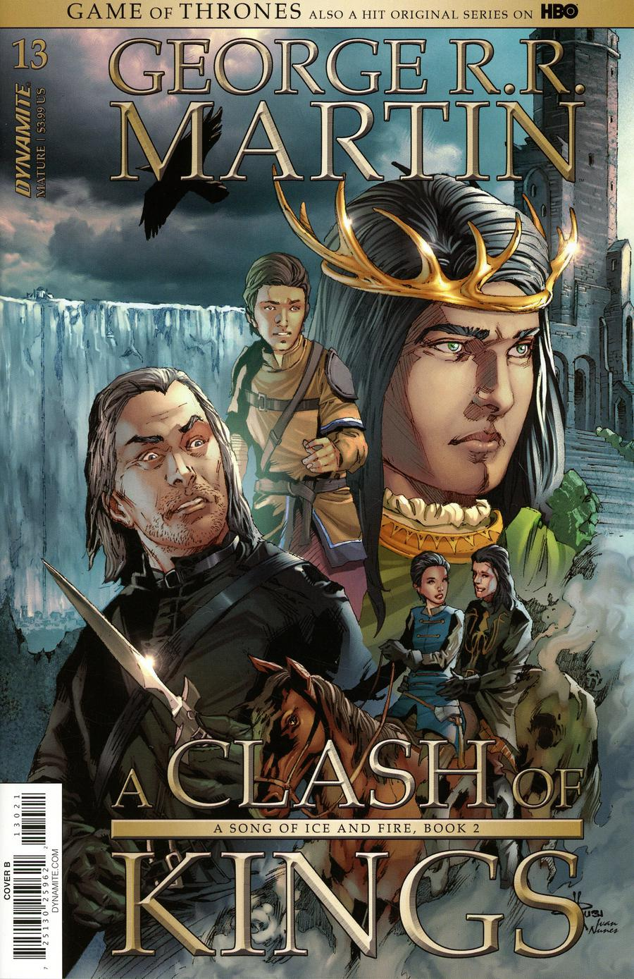 Game Of Thrones Clash Of Kings #13 Cover B Variant Mel Rubi Subscription Cover