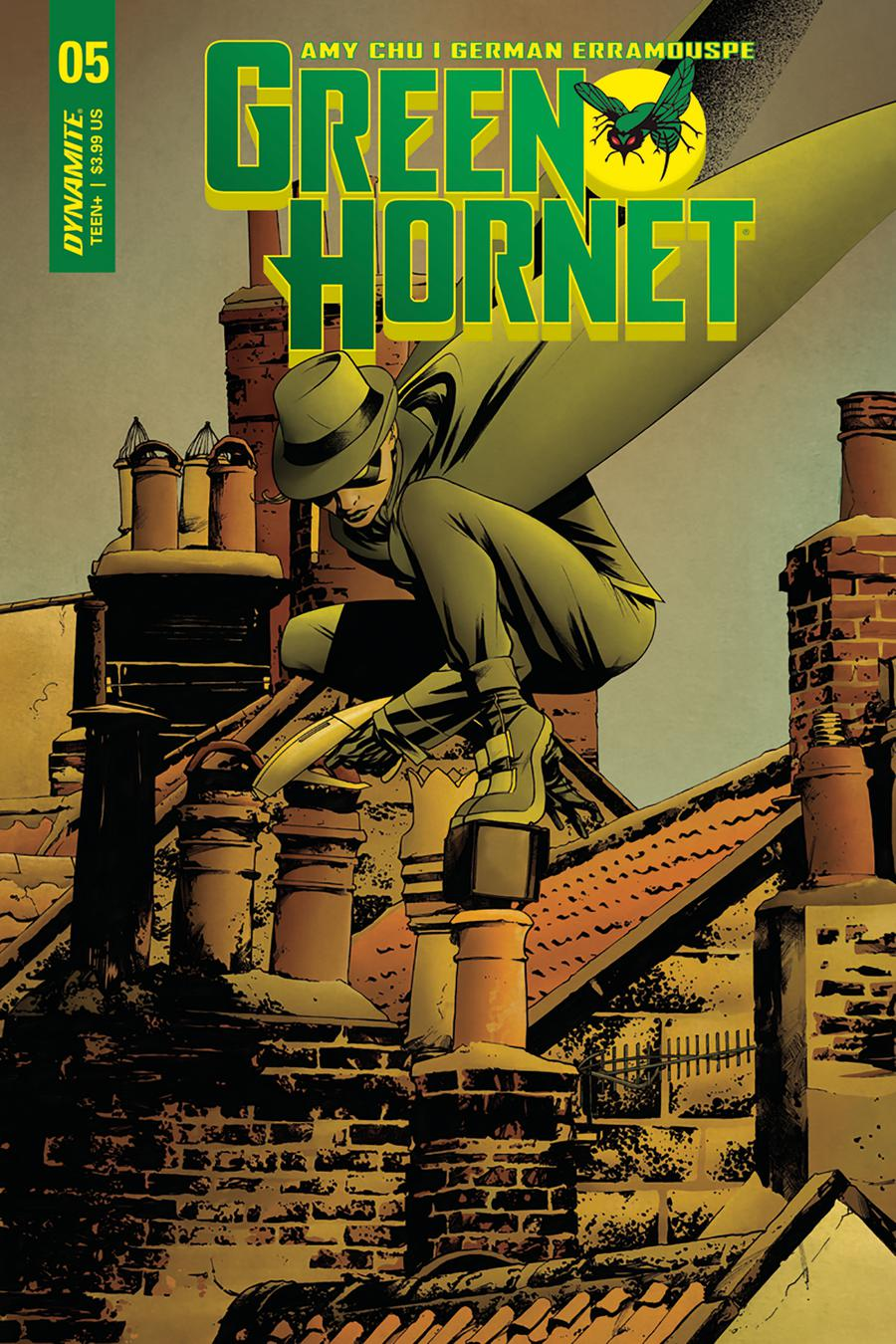 Green Hornet Vol 4 #5 Cover A Regular Mike McKone Cover