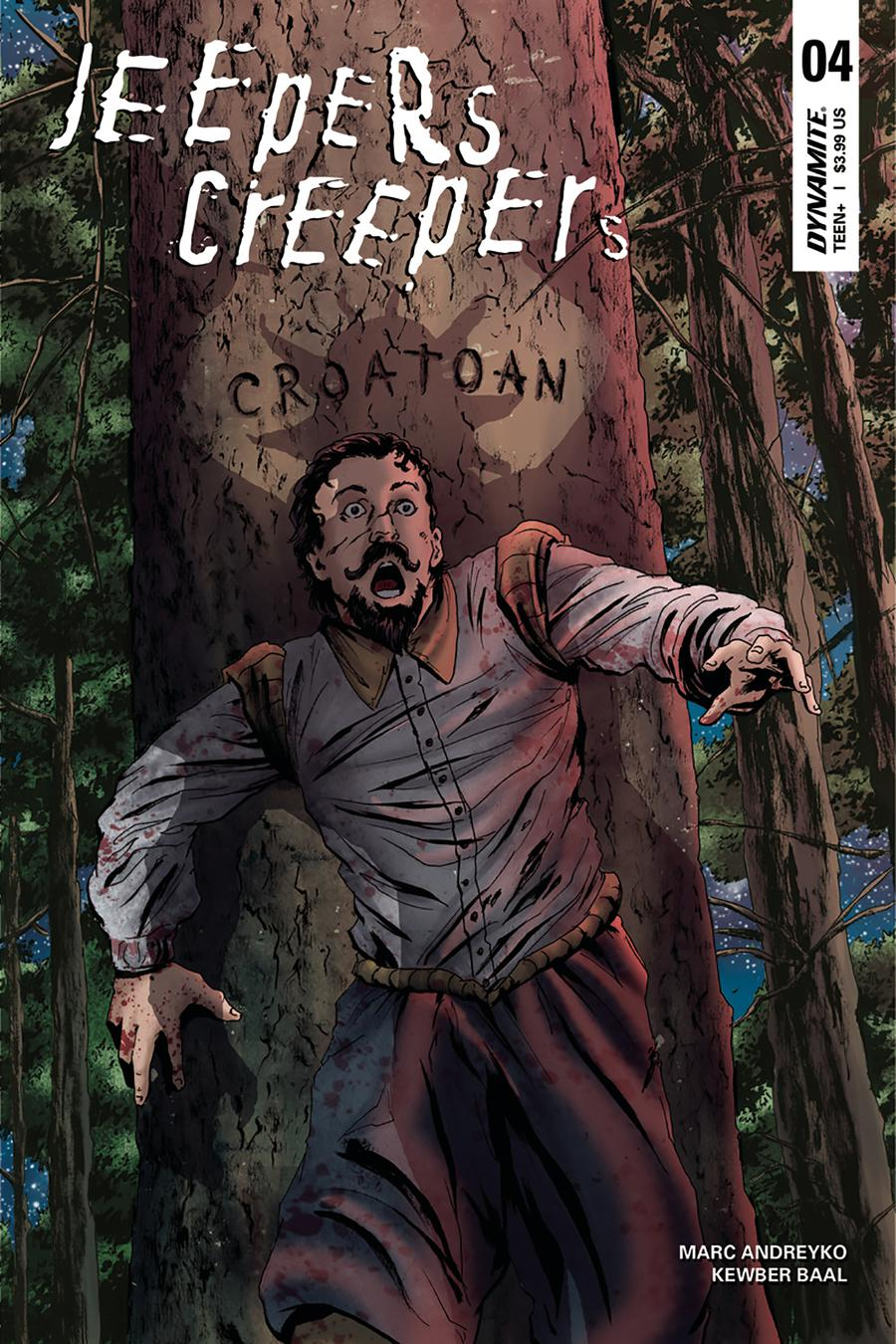 Jeepers Creepers #4 Cover B Variant Kewber Baal Cover