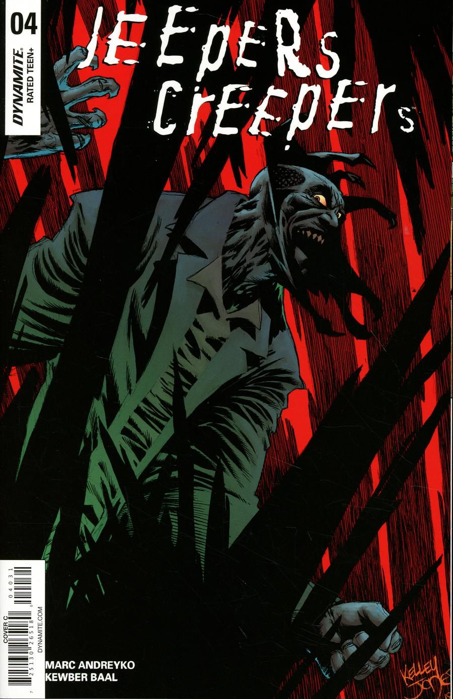 Jeepers Creepers #4 Cover C Variant Kelley Jones Cover