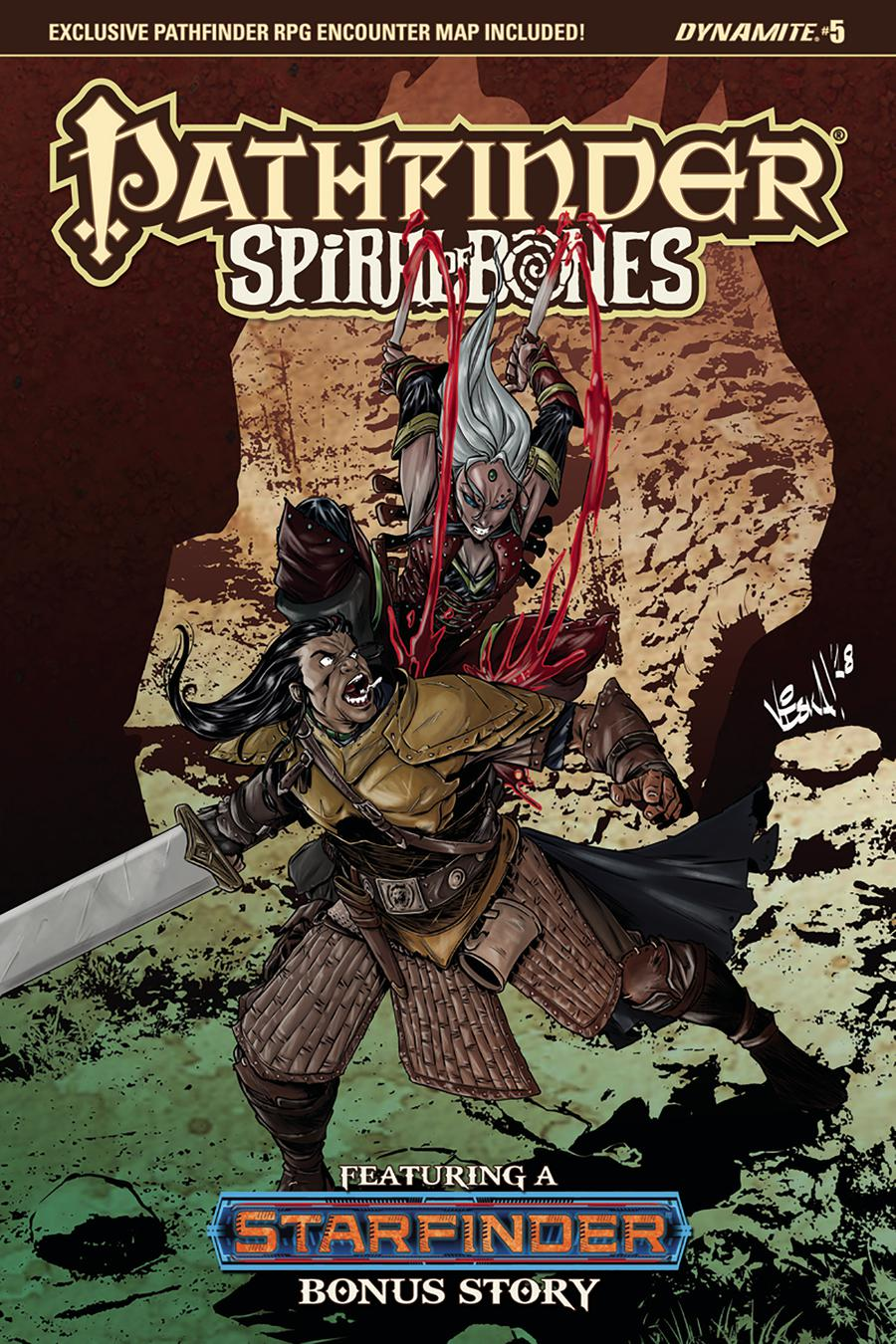 Pathfinder Spiral Of Bones #5 Cover B Variant Vincenzo Federici Cover