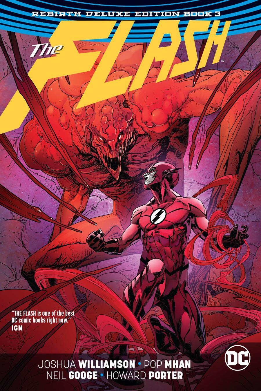 Flash Rebirth Deluxe Edition Book 3 HC